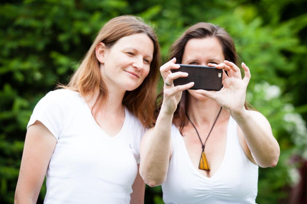 Bianca und Nicole vom KrämerLoft Coworkingspace Erfurt