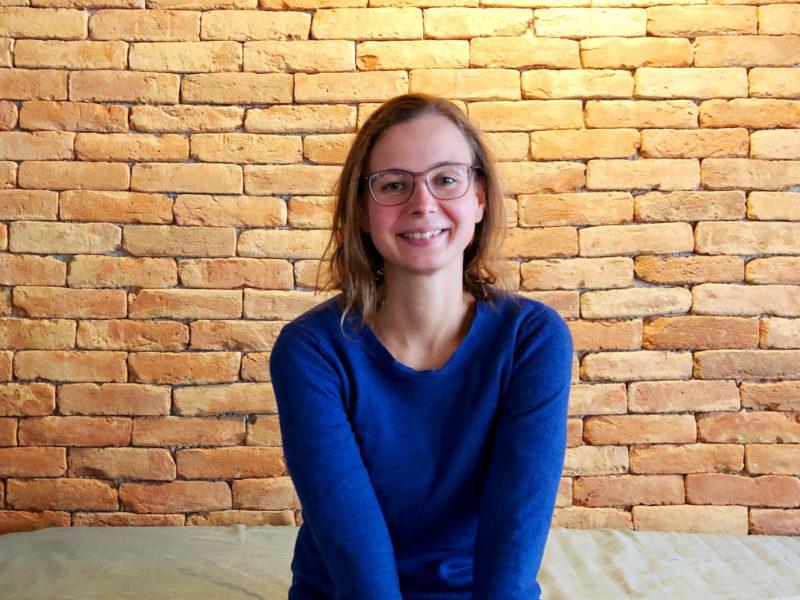 Anika Winkelhöfer im KrämerLoft Coworking Space in Erfurt