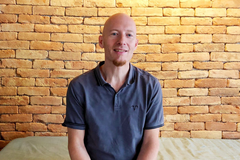 Oliver Hildebrandt im KrämerLoft Coworkingspace Erfurt